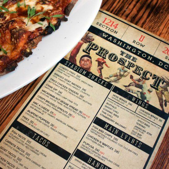 prospect menu