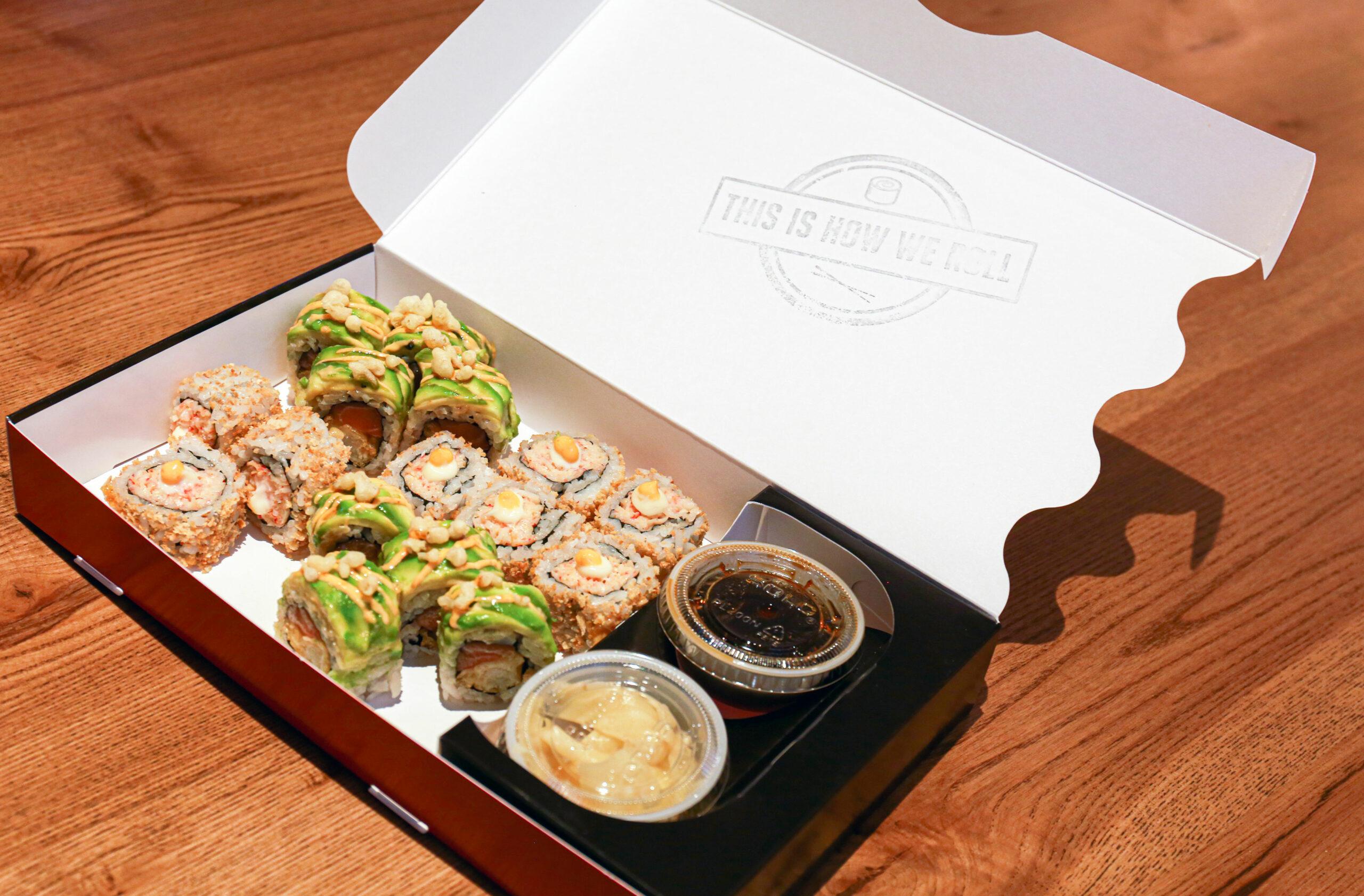 rolld food box